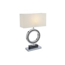Branco lâmpadas de mesa em casa de escritório de aço inoxidável (GT8111-S)