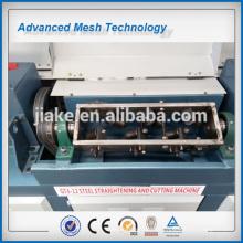Máquina de endireitamento e corte de haste de aço automática