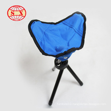 Mini portable folding tripod stool for fashing