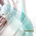 4, 5, 6mm claro / marrón / azul de vidrio para la decoración de vidrio