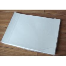 T-shirt profissional transparente papel de transferência de calor