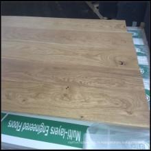 Plancher de bois de chêne européen d'ingénierie