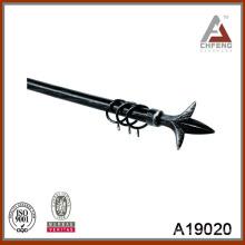 A19020 комплект металлических карнизов, металлическая пластиковая занавеска, двойная занавеска