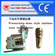 High Quality Pressuizing-Down Style Stainless Steel Temple Holder