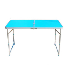 Modern portable aluminum table outdoor furniture white table for camping or picnic