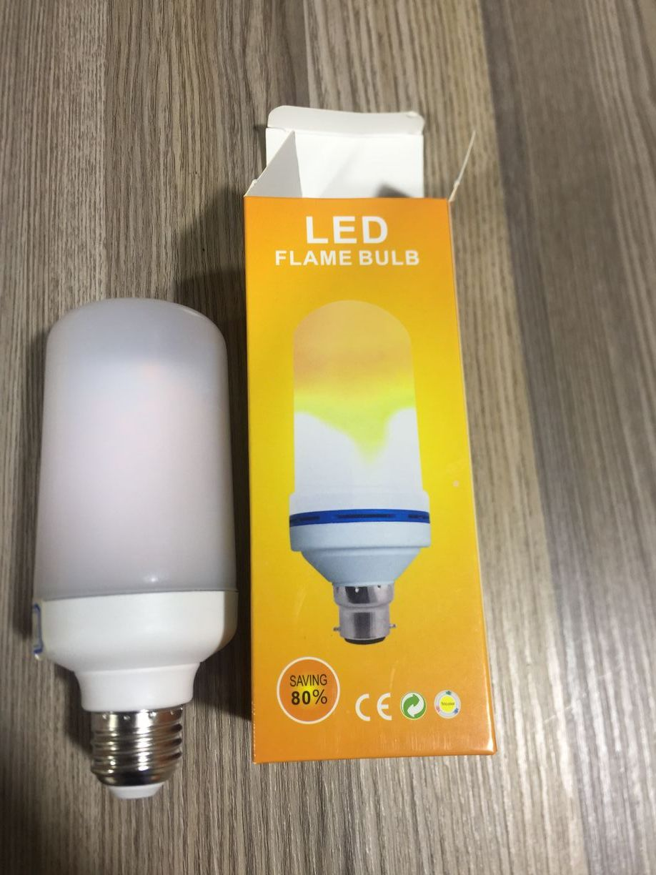 led flame light