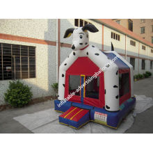 Pvc Inflatable Castle Bouncer Custom For Outdoor / Kids