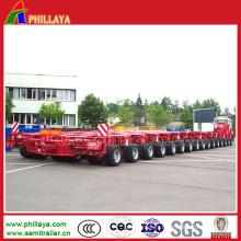 Essieux rotatoires hydrauliques d'équipement lourd de transport modulaire