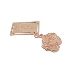 Bags Accessories Rose Gold Custom Metal Plate, Metal Tag