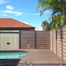 Low price 135*25mm fireproofing wpc decking plastic and wood composite outdoor flooring swimming pool wpc deck