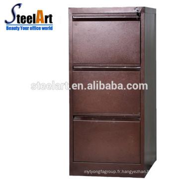 Classeur de fiches de meubles en métal