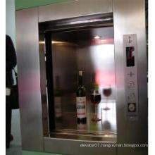 Gearless Machine for Service Elevator