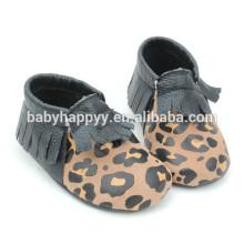 Дети Кожаный мальчик Повседневная обувь для BABY С мягким подошвой