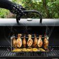 Stainless Steel BBQ Chicken Leg Wing Rack