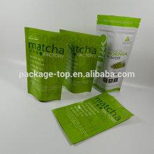 Color Plastic Bellows Bag/Accordion Pocket for Pack/aluminum foil food packaging bag/moisture proof heat seal aluminum foil bag