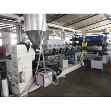 HDPE, PPR Pipe y PP PE PC PS HIPS Sheet Extrusion Lsj120 / 33 Extrusora monohusillo