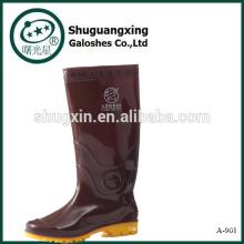 Cowboy caoutchouc pluie chaussures A-901 masculine