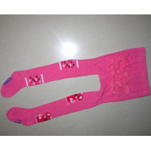 Lace Pink Tights Animal Tights Lace Pink Tights
