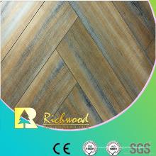 Commercial 12,3 mm geprägte Eiche gewachst eingefasst Lamianted Flooring