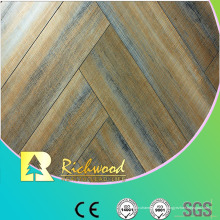 Le chêne gaufré par chêne commercial de 12.3mm a laminé le plancher lamianted