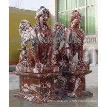 Высекать сад скульптуры камень мраморная статуя (SY-X1777)