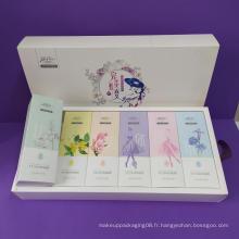 Boîtes cosmétiques personnalisées faites par des professionnels
