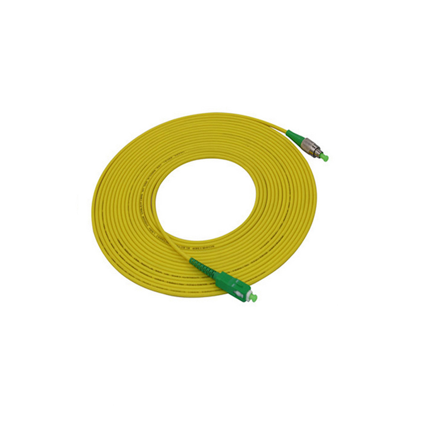 SC PC / APC Fiber Patch Cord