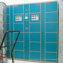 Armario de almacenamiento electrónico digital de metal de supermercado