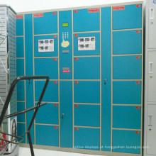 Armário de armazenamento eletrônico digital do metal do supermercado
