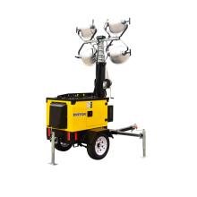 Torre de luz de emergência com lâmpada de haleto de metal de 4 * 1000W