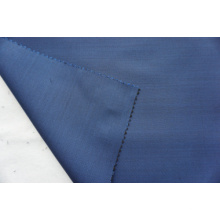 Satain Weave blue Wool Fabric