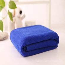 China Fabrik Versorgung 100% Mikrofaser Australien unisex Strand Handtuch / Hotel Badetuch / Gym Yoga Handtuch