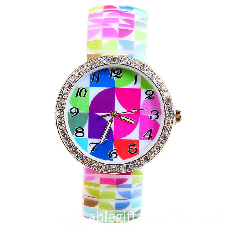 diamond case watch
