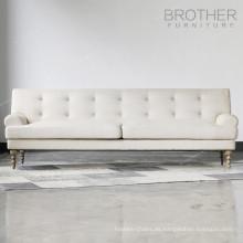 Sofá árabe vendedor caliente del piso del marco de madera sólida del diseño de la manera del fabricante