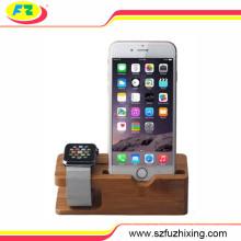 Soporte de soporte de teléfono celular de soporte de teléfono móvil para el reloj del teléfono