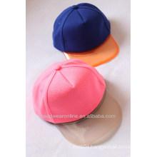 New Style Custom PVC Fluorescence Kid's Baseball Caps China Factory