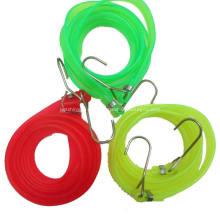 Cuerda elástica con ganchos de plástico