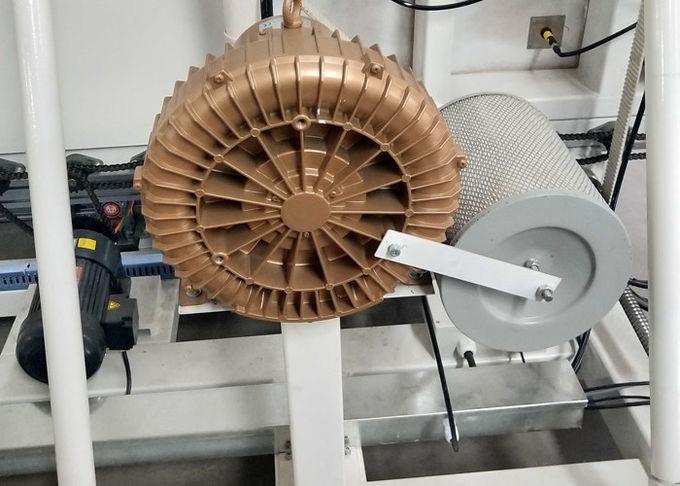 press part of double glazing machine