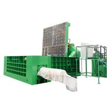 Máquina compactadora de procesamiento de chatarra de virutas de metal