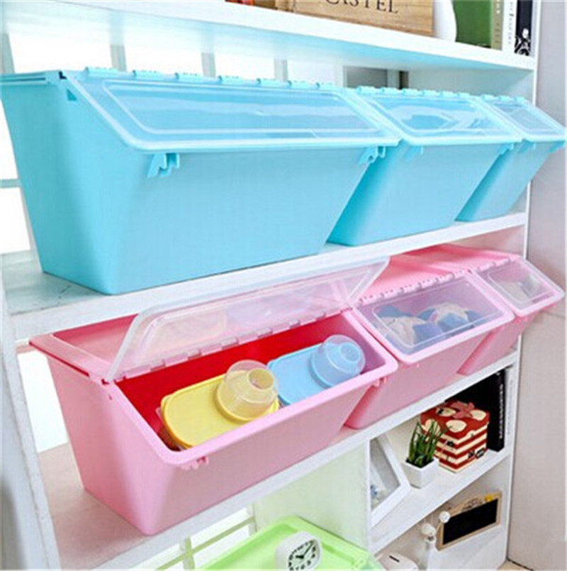 stackable storage bin