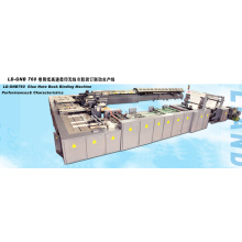 <Ld-Gnb760 > Machine de reliure de livre de cahier de colle