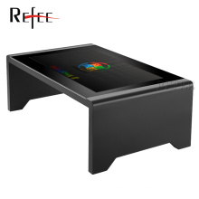 flat waterproof multi points touch screen /lcd kids study table/lcd touch screen coffee table