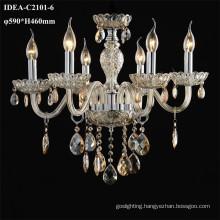glass candle lamps chandelier modern light fixture