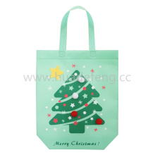Christmas Large Non-woven Handle Shopping Bags With Balls