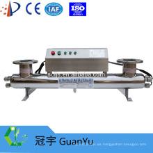 254nm SS 304/316 Esterilizador UV para proceso de alimentos