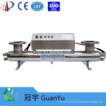 254nm SS 304/316 Esterilizador UV para processo alimentar