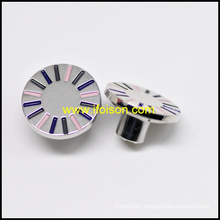 New Jeans Button with Three Colors Enamel