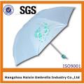 Guarda-chuva feliz de dobramento por atacado para o grande mercado da reflexão do sol