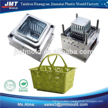 plastic injection shopping basket moulds