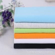 Tecido de malha 100% algodão simples